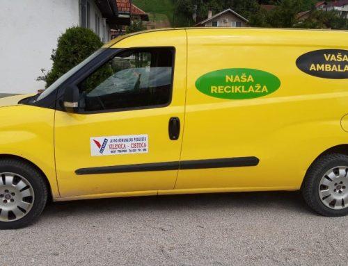 """JKP """"Vilenica -Čistoća"""" d.o.o. Novi Travnik najbolja na području SBK u količinama prikupljenog stakla"""