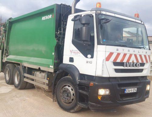 Obavijest o odvozu otpada za Novu godinu