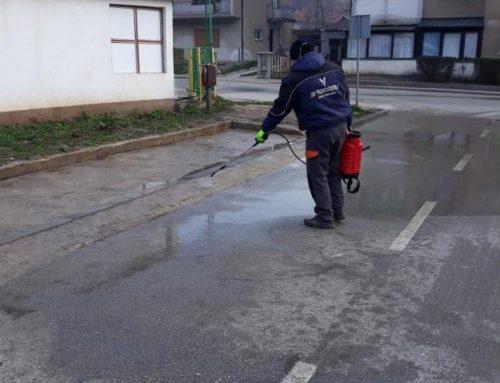 Pranje i dezinfekcija lokacija za kontejnere i kontejnera
