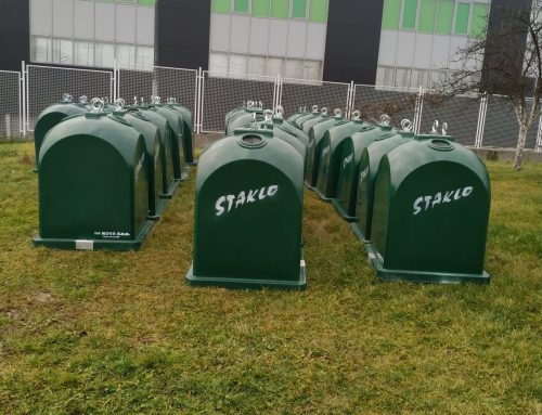 """U okviru projekta  """"Upravljanje staklenom ambalažom na Zapadnom Balkanu"""" Novi Travnik dobio 30 kontejnera za staklo"""